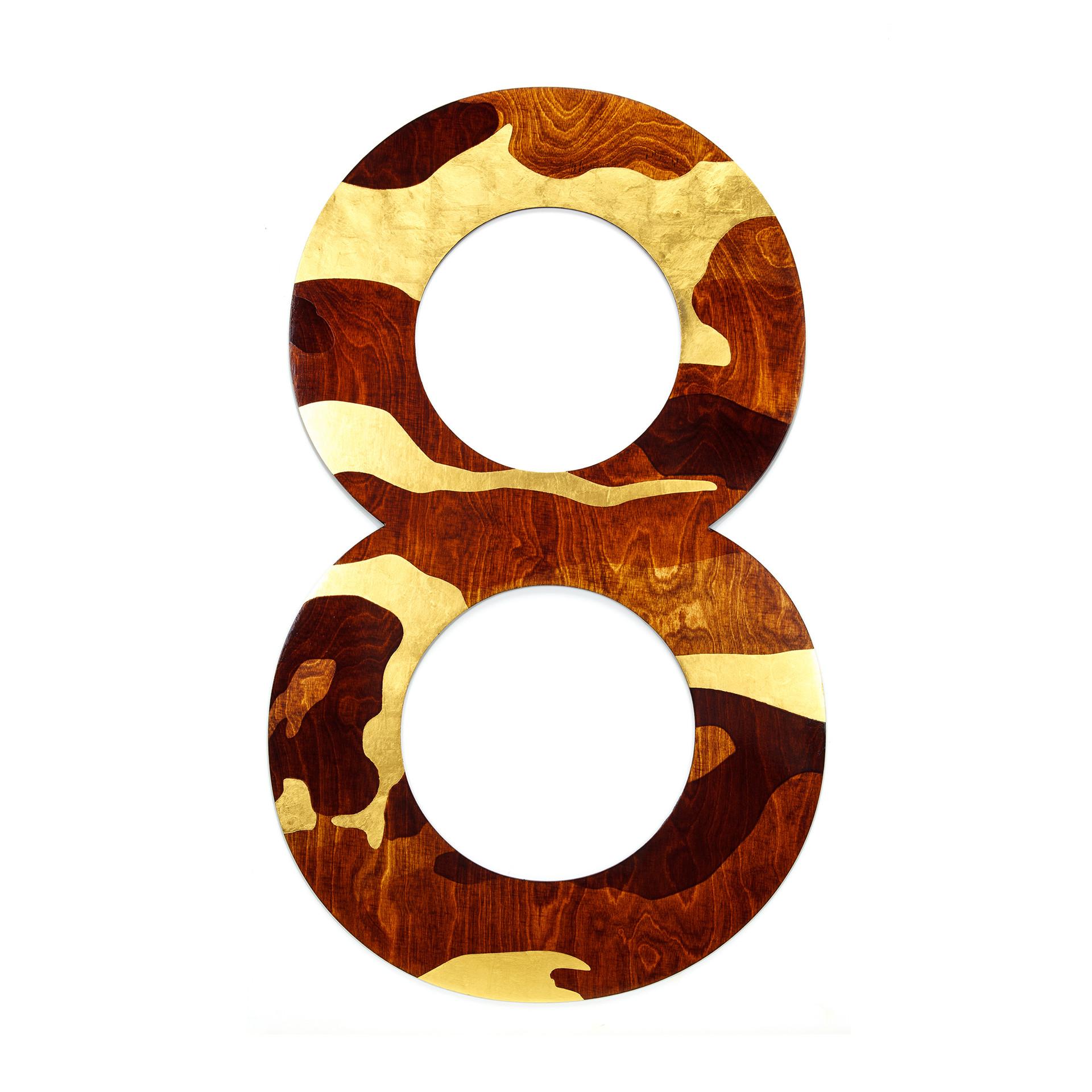 '8' series _ Gold Camo