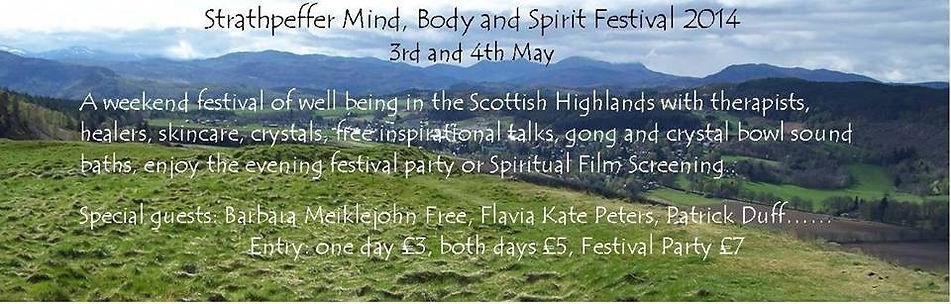 Strathpeffer Mind, body, Spirit Festival 2014