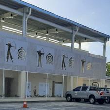 Campo de Tiro y Arco en la Ciudad Deportiva Irving Saladino