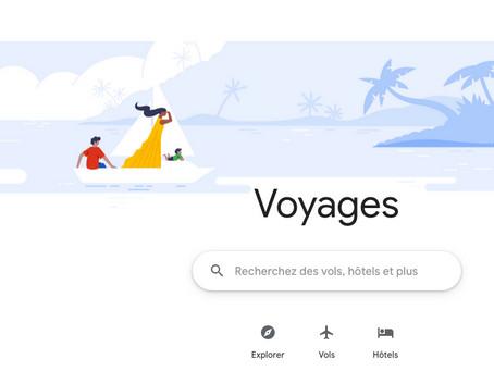 Comment Google avance ses pions dans le voyage