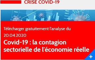Covid-19 : la contagion sectorielle de l'économie réelle. Etude XERFI - 20 Avril 2020