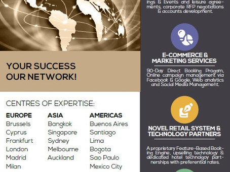 WORLD HOSPITALITY ALLIANCE AT A GLANCE