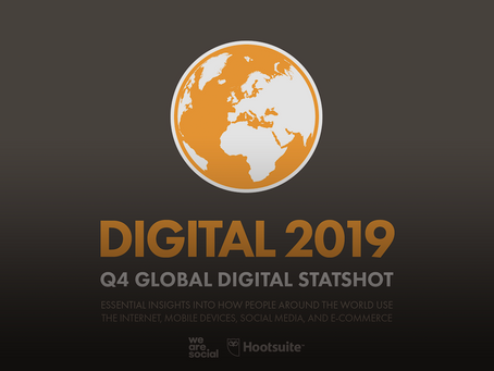 Digital 2019 Q4 Global Digital Statshot (October 2019)