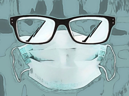 Hold Your Glasses Back from Fogging Up Whilst Wearing A Mask: Tips