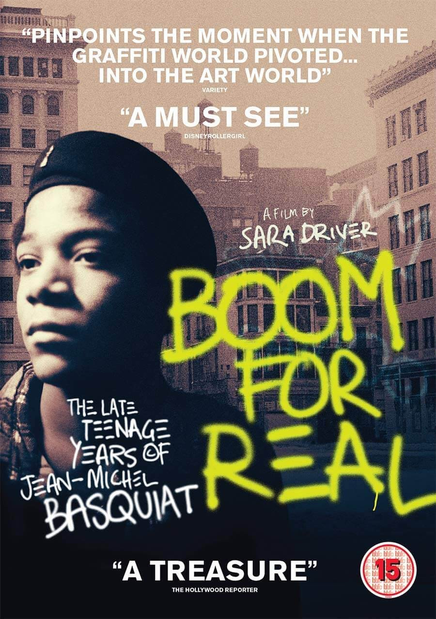 Boom for Real: The Late Teenage Years of Jean-Michel Basquiat (2018) poster