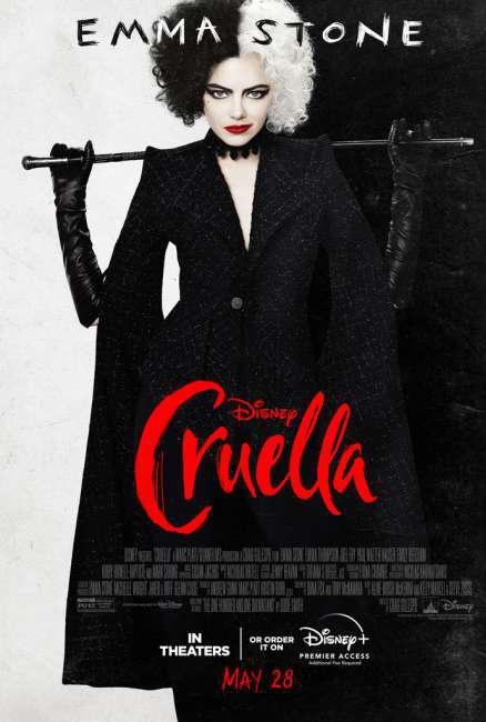 Cruella (2021) — Movie Recommendation, Genre: Comedy, Kids & Family, Stars: Emma Stone, Emma Thompson, Mark Strong,
