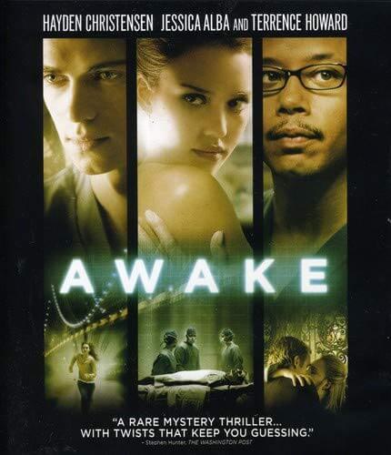 Awake 2007 — Movie Recommendation, Genre: Mystery, Thriller, Stars: Jessica Alba, Hayden Christensen, Lena Olin, Terrence Howard