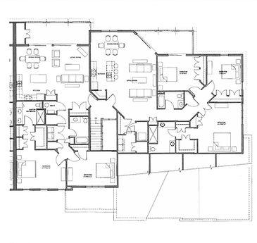 Legacy Condo 2nd Floor Right Side Floor Plan