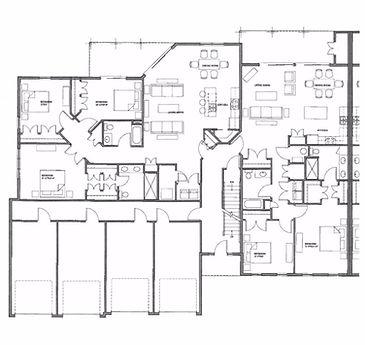 Legacy Condo 1st Floor Left Side Floor Plan