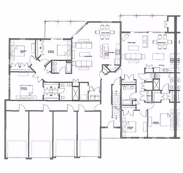 Legacy Condo 1st Floor Left Side Floor Plan