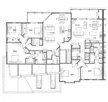 Legacy Condo 2nd Floor Left Side Floor Plan
