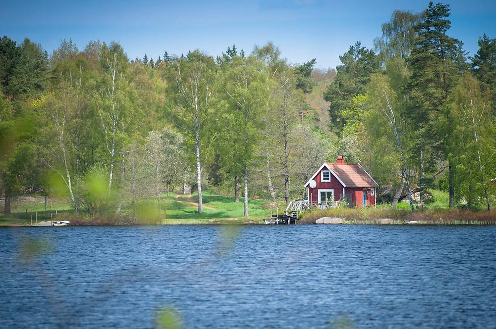 Ferienhütte in Schweden