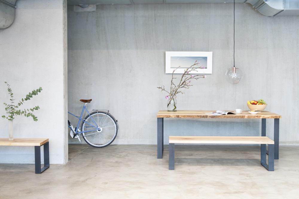 Designer-Essgruppe-Holz