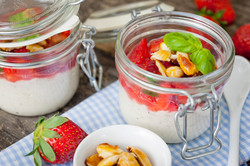 Erdbeer-Nachtisch