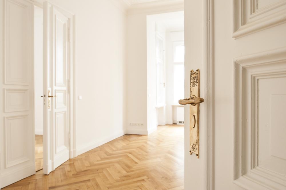Altbau-Wohnzimmer-Immobilie