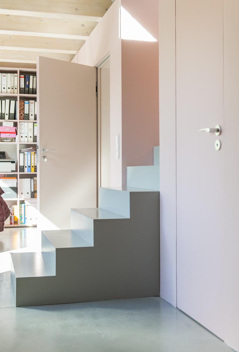 Treppe-Architektenvilla