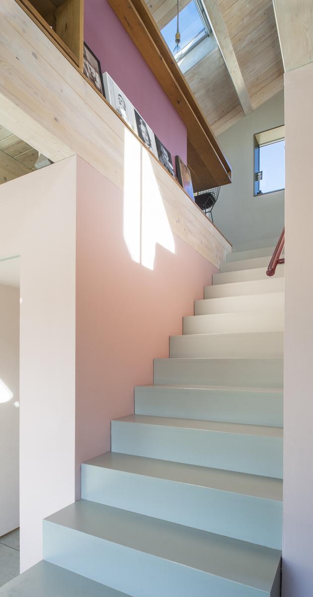 Treppen-Design-Architektenvilla