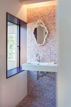 Badezimmer-Architektenhaus