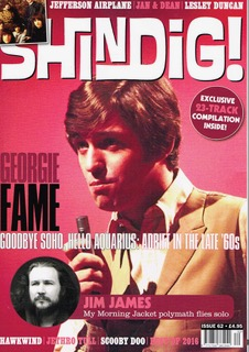 Shindig! Dec 2016 front cover Georgie Fame