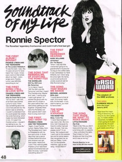 NME 3.6.16 -Soundtrack of my life (ronnie)
