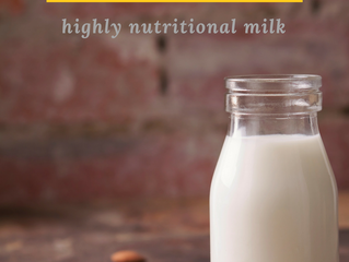 Easiest Almond Milk Recipe!