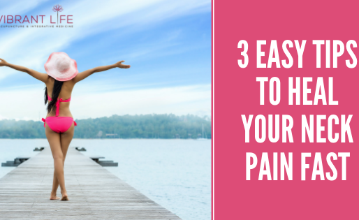 West Linn: 3 Easy Tips To Heal Your Neck Pain Fast