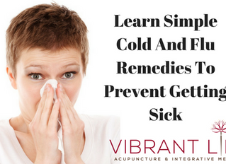 Learn Simple Cold And Flu Remedies To Prevent Getting Sick