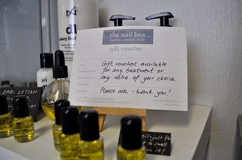 the nail box Gift Vouchers