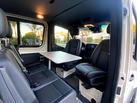 Building a Van in Stages