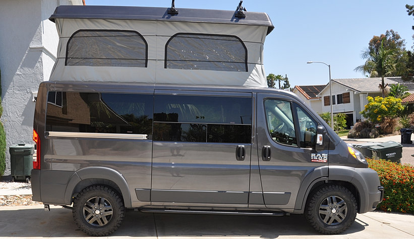 Cardiff Campervan Van Conversions California Adventure