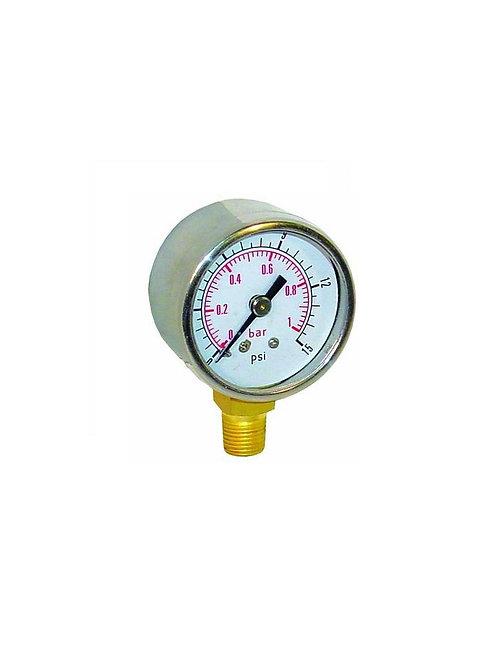 Reloj presión 0-1 bar