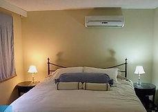 Single King bedroom cottage