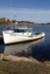 French River fishing boat