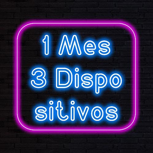 IPTV 1 MES 3 DISPOSITIVOS