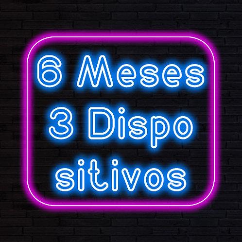 IPTV 6 MESES 3 DISPOSITIVOS
