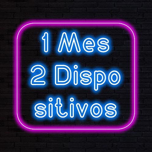 IPTV 1 MES 2 DISPOSITIVOS