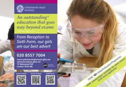 Archant Science Our Girls 190 x 132 HSBC Ad