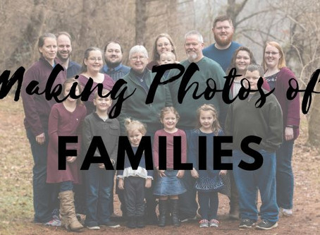 Tips for Photographing Families!
