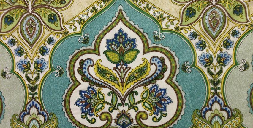 Modern Moroccan Damask -  Lilly Pad