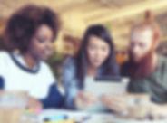 นักเรียนที่มี iPad