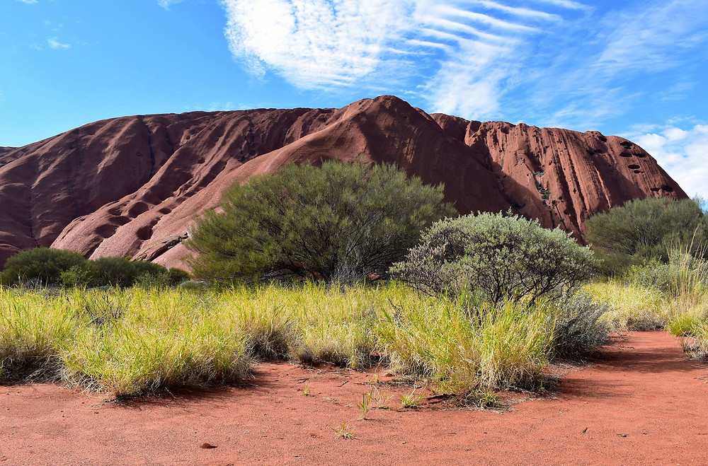 Uluru up close - photo by D-Man