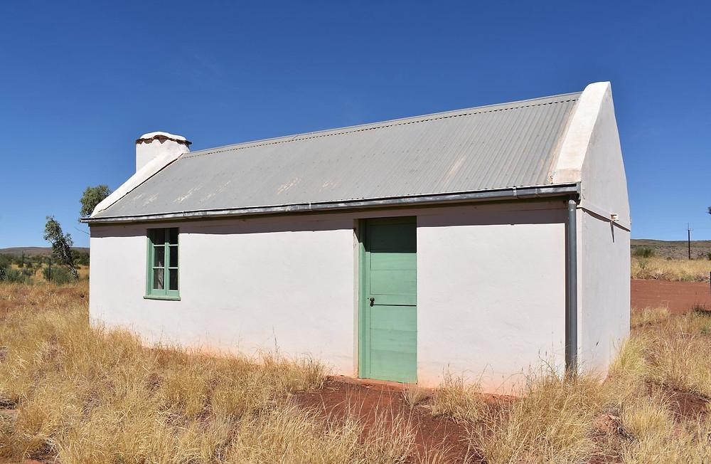 Albert Namajira's childhood home just west of Hermannsberg