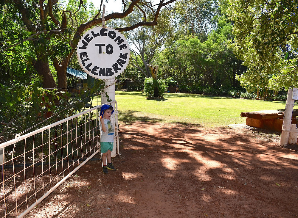 Ellenbrae homestead gate