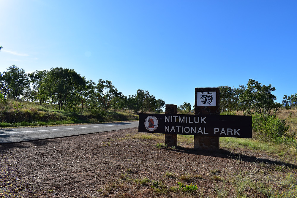 Katherine Gorge is located in Nitmiluk National Park