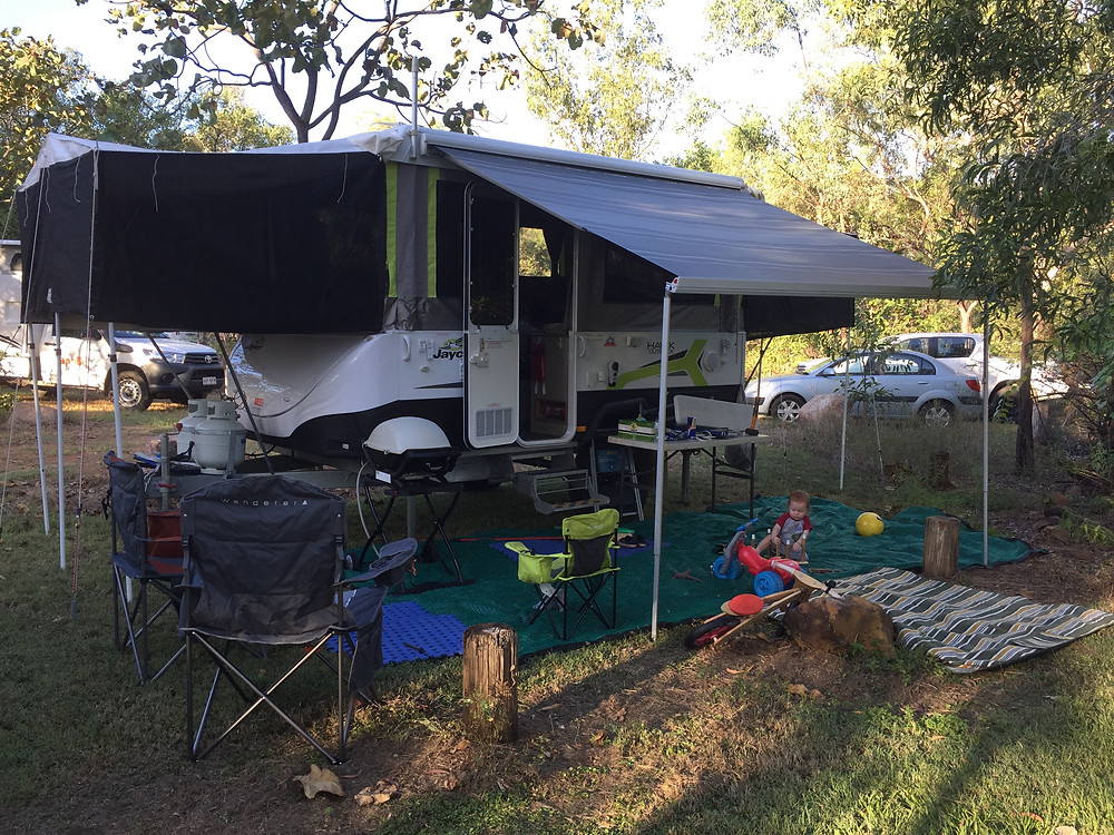 Camp at Edith Falls for three nights - it was fantastic!