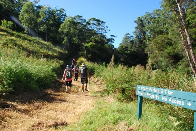 Upper Portals hike, Mt Barney, Queensland, Australia