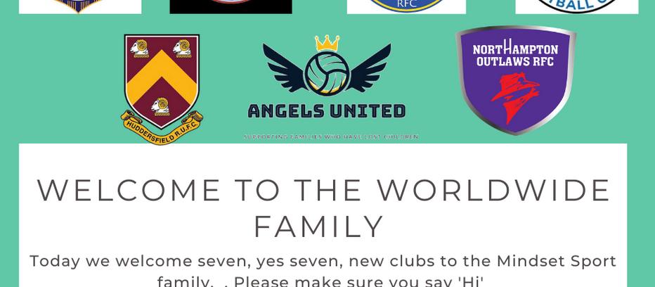 Seven new teams sign up!