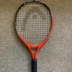 "Head Tennis Racket, 21"""