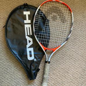 "Head Tennis Racket, with Bag, 23"""