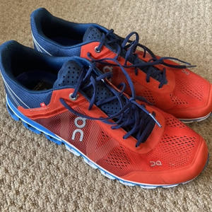 ON Red and Blue Running shoes